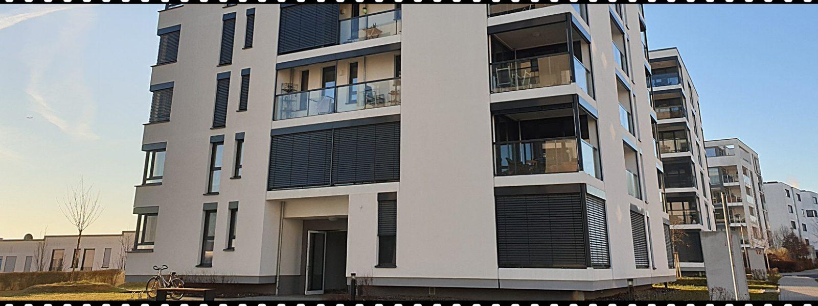 Stilvolle 2 Zi. Etagenwohnung mit 2x Loggia, Kellerraum + TG zu verm.