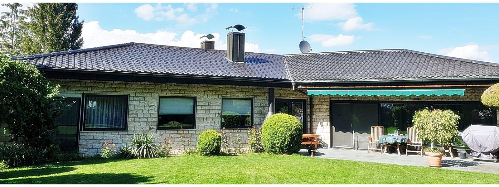Sorgen sie für ihr Alter vor……….ein Traum-Bungalow mit großer Terrasse, Doppelgarage und 2x Pkw-Außenstellplätzen in Toplage